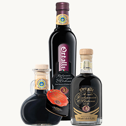 Click here to purchase Ortalli Balsamic Vinegars of Modena products