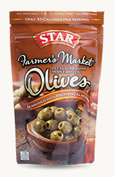 Spanish Manzanilla Pitted Olives Seasoned with Provencal Herbs - Buy Now