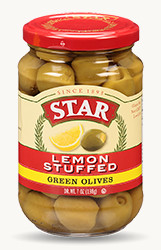 Lemon Stuffed Green Olives - Buy Now