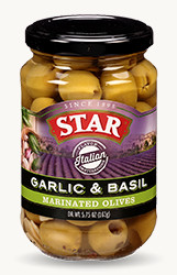 Flavor Destinations Italian Garlic & Basil Marinated Olives - Buy Now
