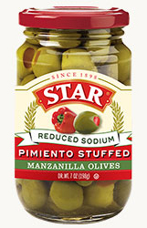 Reduced Sodium Pimiento Stuffed Olives [star-009453.jpg]